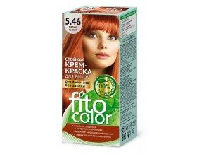 FITO COLOR Trvácna farba na vlasy s prírodným základom bez amoniaku a bez zápachu Medeno-ryšavá