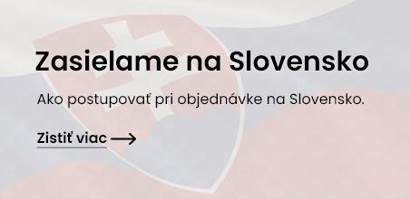 Baner  - zasíláme na Slovensko