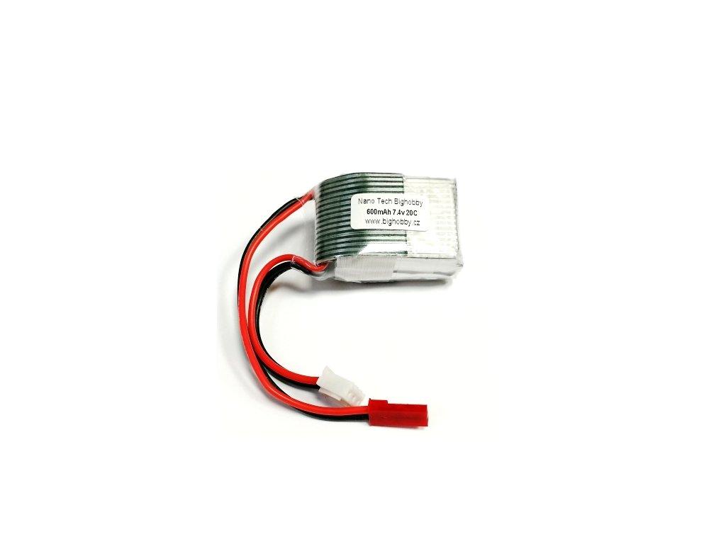 Bighobby- NANO Tech 600mAh 2S 20C (30C)