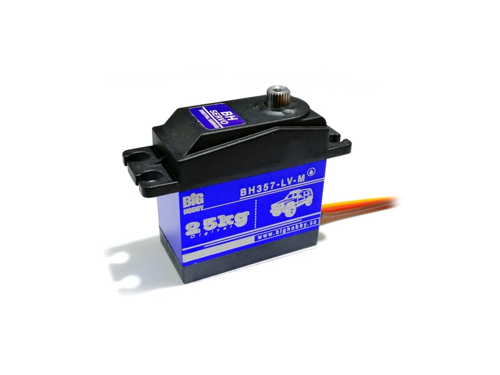 BH Servo 357-LV180-M 57g/0,18s/26kg/180° (Digitální, vodotěsné)