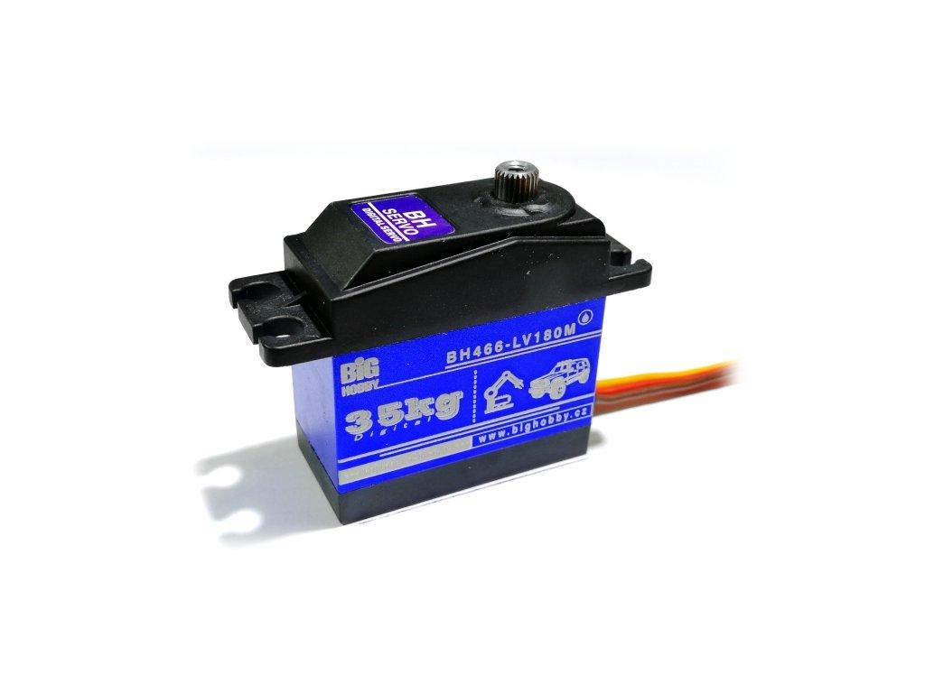 BH Servo 466-LV180-M 57g/0,14s/35kg/180° (Digitální, vodotěsné)