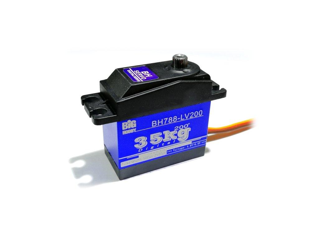 BH Servo 788-LV200 60g/0,14s/35kg /200° (Digitální)