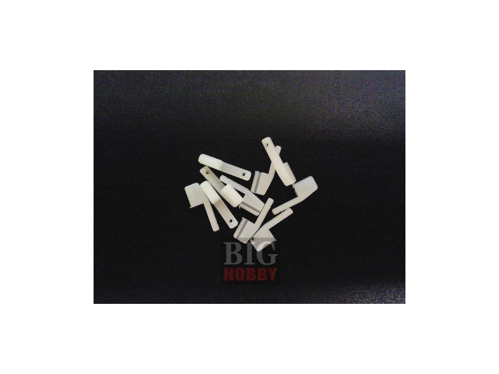 Koncovka táhla nylon 12x4x1,5mm