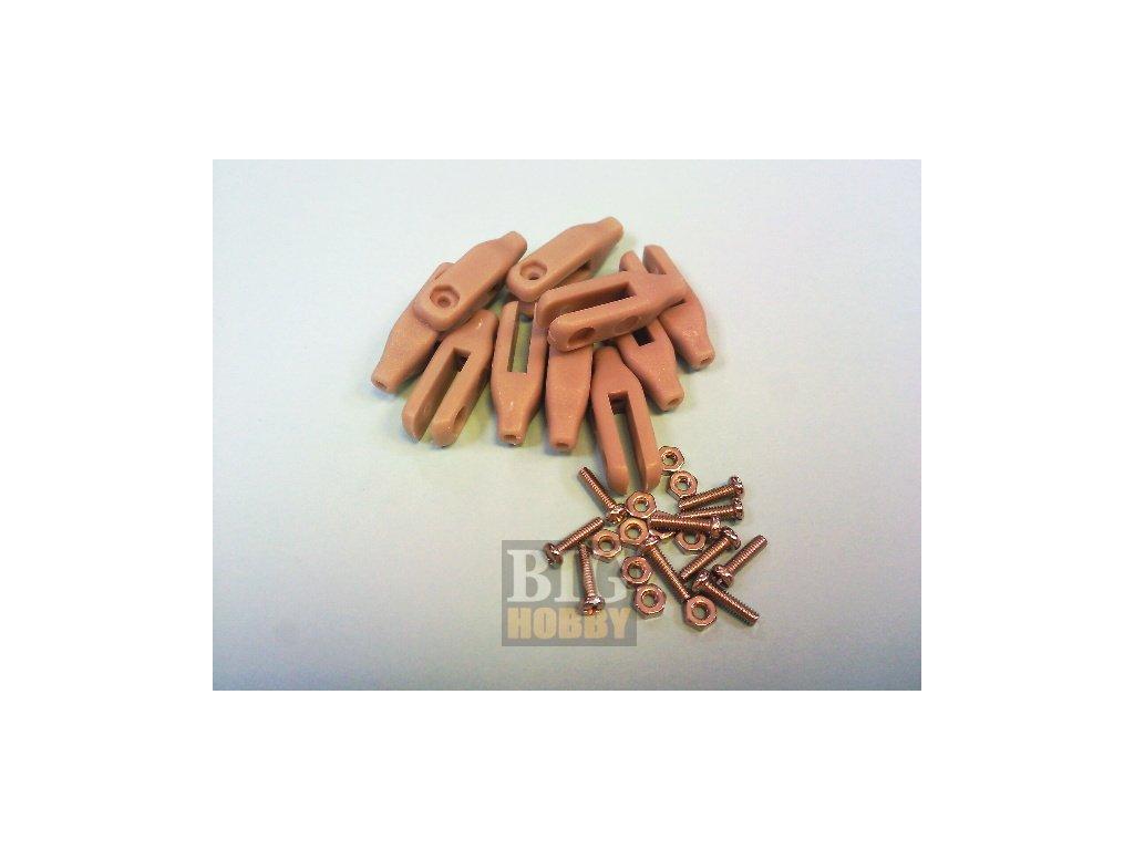 Vidlička plastová M2 x L23