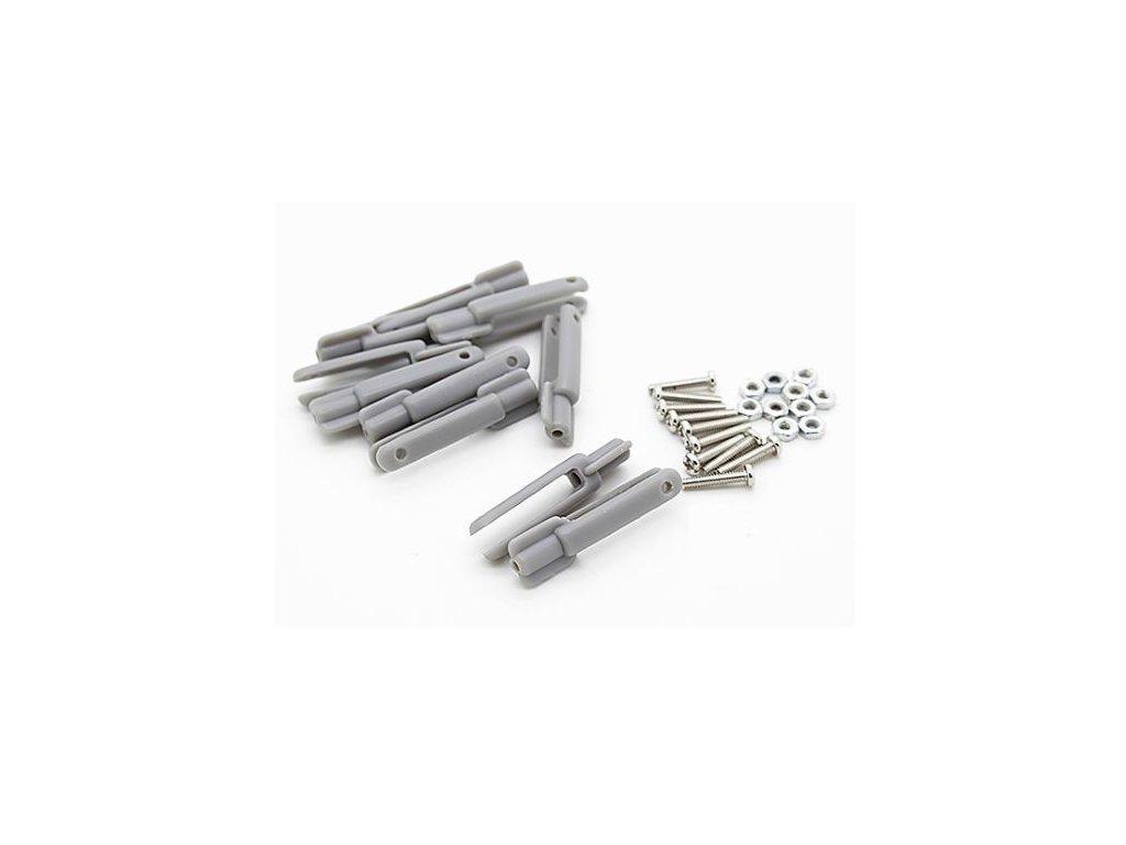 Plastová vidlička L29 x M2 (šedá)