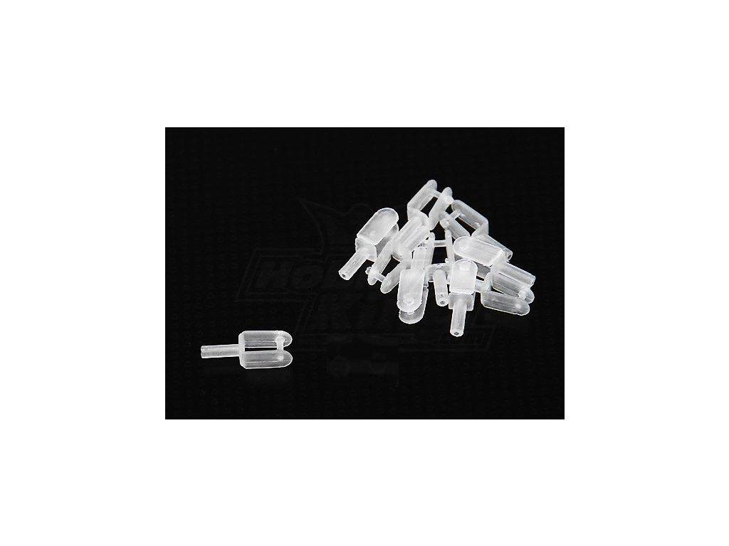 Plastová micro vidlička L15x5