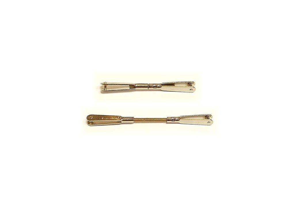 Kovové vidličky s táhlem M2/ max62mm