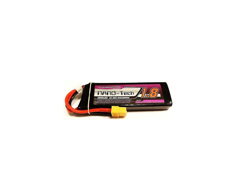 Bighobby - NANO Tech 1800mAh 2S 25C (50C)