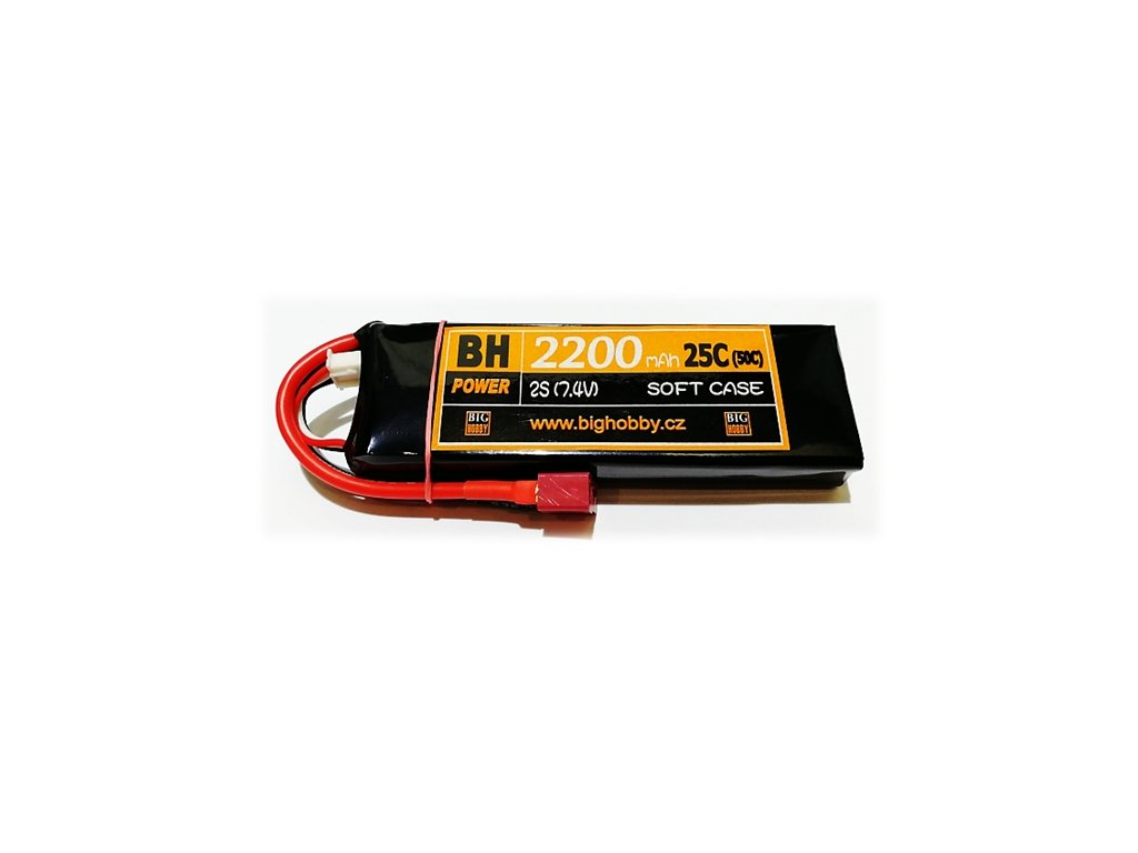 BH Power 2200 mAh 2S 25C (50C)