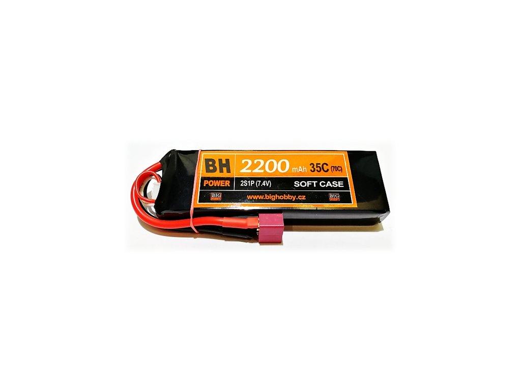 BH Power 2200 mAh 2S 35C (70C)
