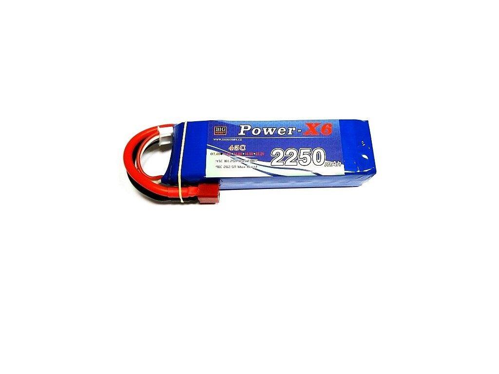 Power X6 2200 mAh 2S 35C (70C)