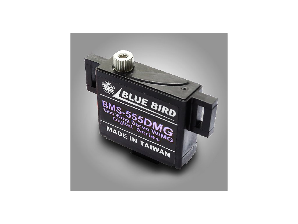Blue Bird servo BMS-555DMG 19,5g/0,13s/4,7kg