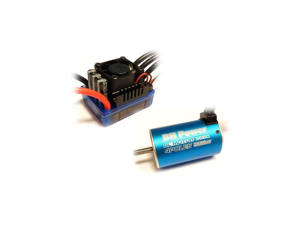 Combo BH Power 3660 2600kv+80A (1/10)