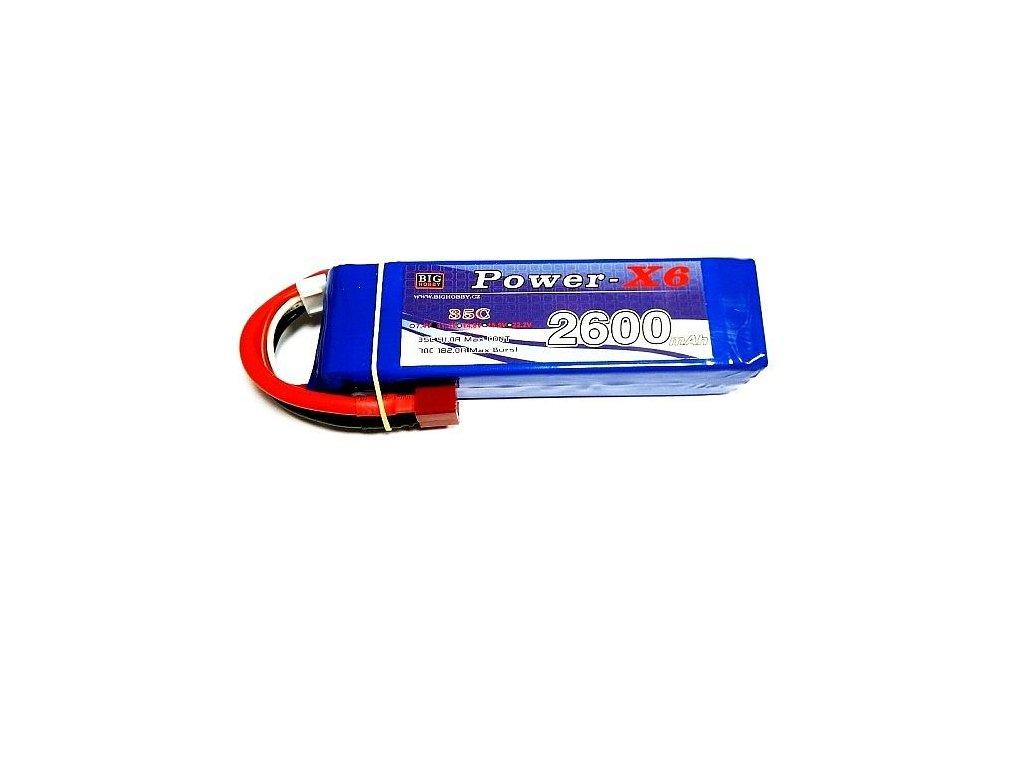 Power X6 2600 mAh 2S 35C (70C)