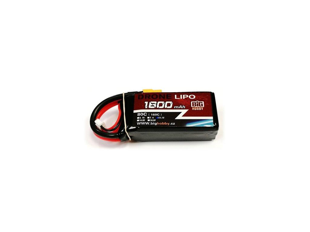 DRONE LIPO 1600mAh 3S 80C (160C)
