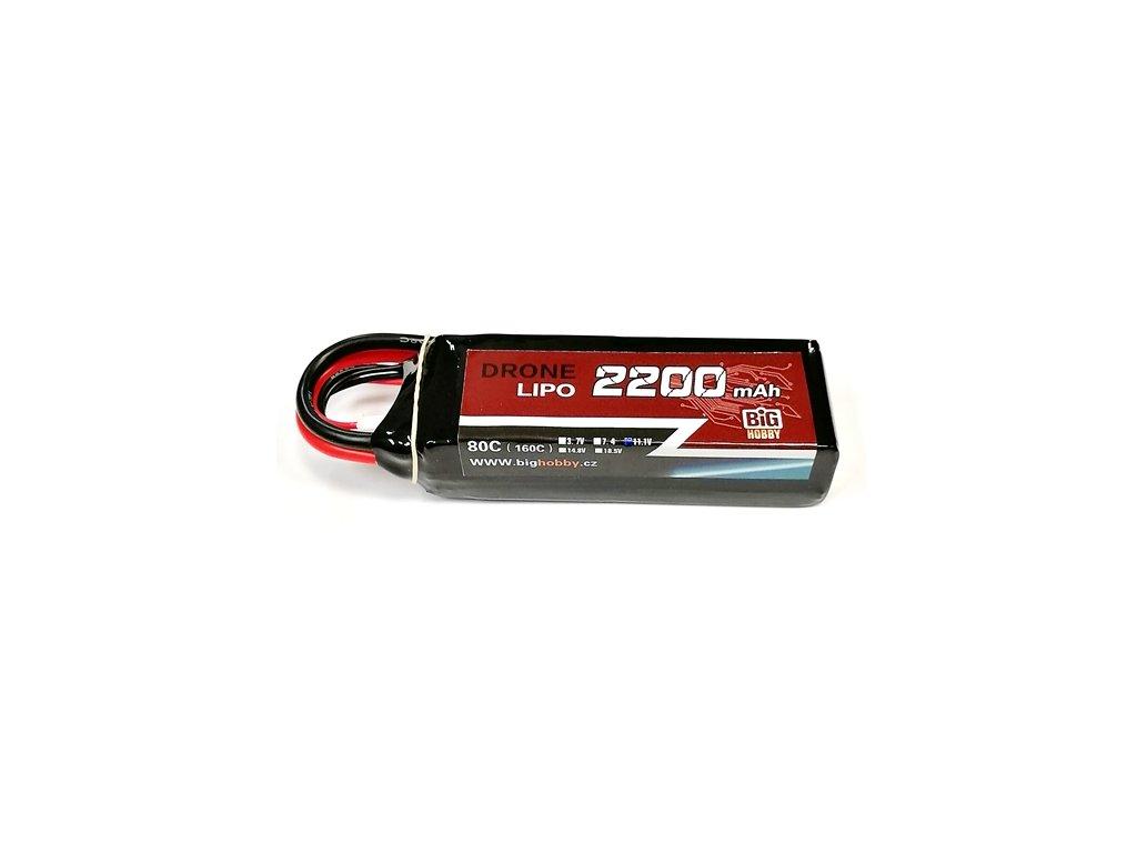 DRONE LIPO 2200mAh 3S 80C (160C)