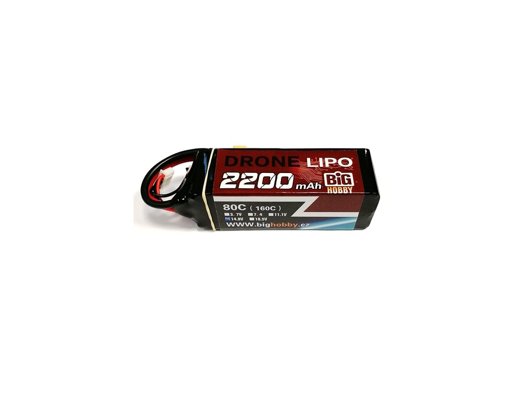 DRONE LIPO 2200mAh 4S 80C (160C)