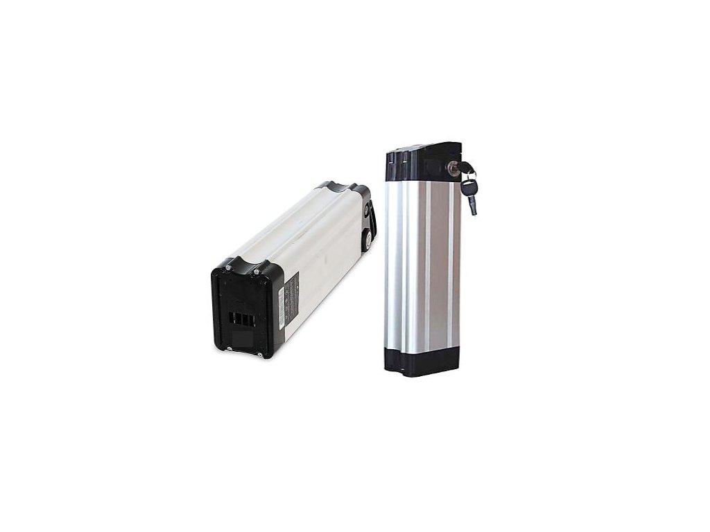 Baterie Li-ion 18,2Ah 36V do elektrokol  (svislá - silver fish)
