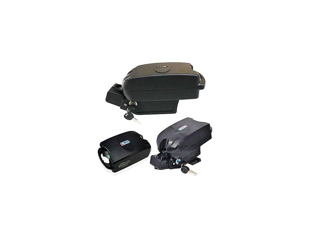 Baterie Li-ion 10Ah 36V do elektrokol (podsedlová - frog)