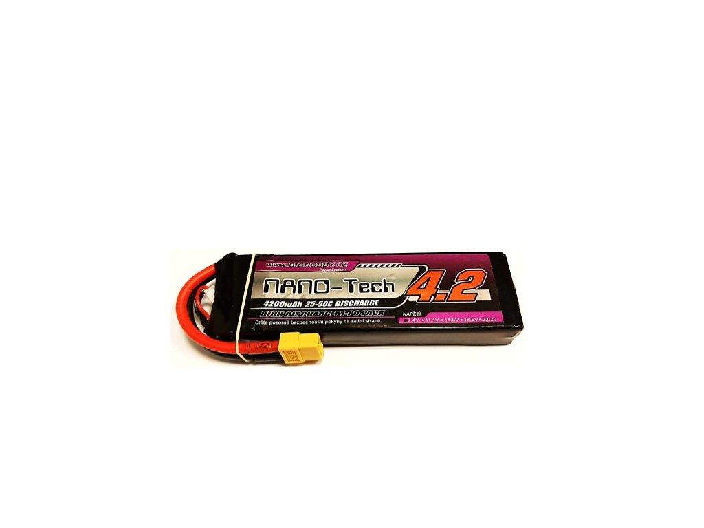 Bighobby - NANO Tech 4200mAh 2S 25C (50C)