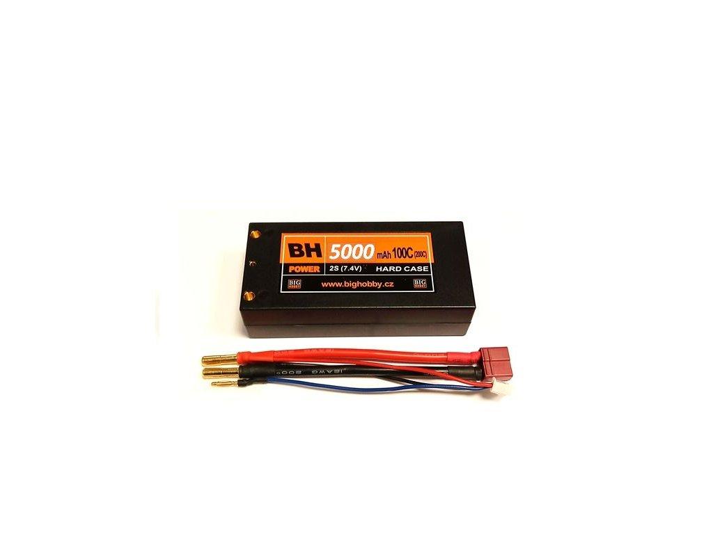 BH Power 5000 mAh 2S 100C (200C) HC (short HC), 1.6-1.7mΩ