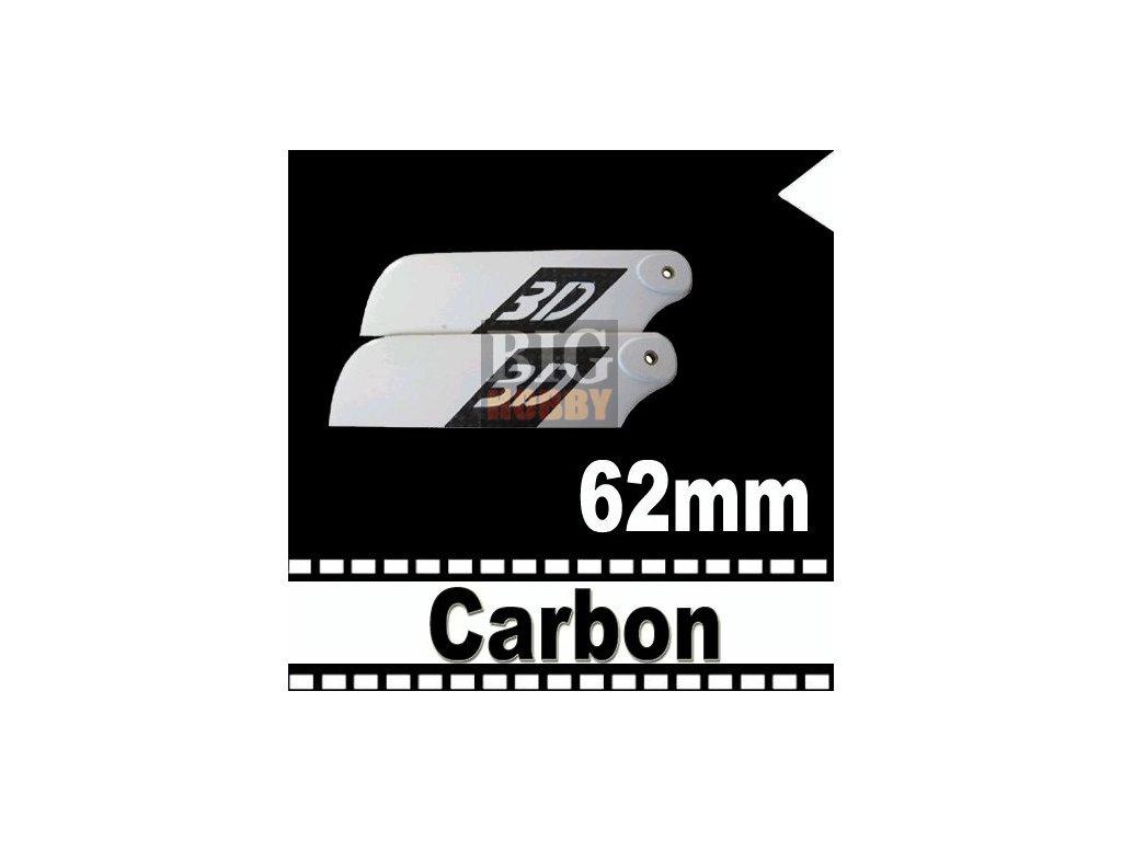 Ocasní  listy 62mm - CARBON