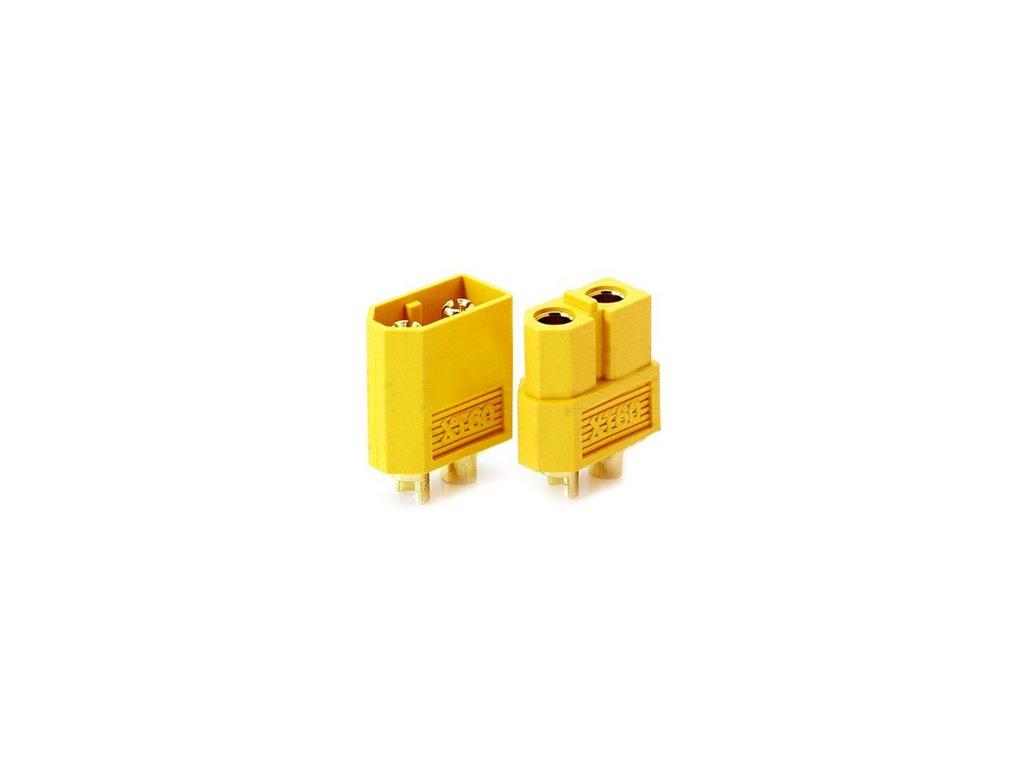 Konektory XT60  (samec+samice)