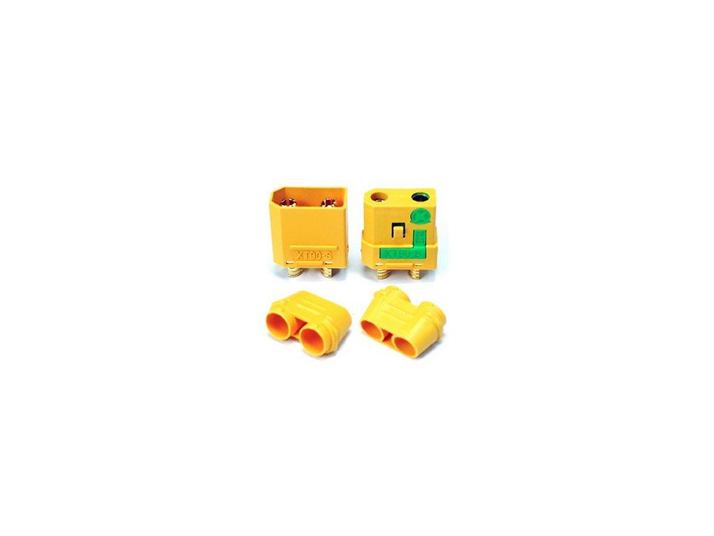 Konektory XT90-S Anti Spark (pár)