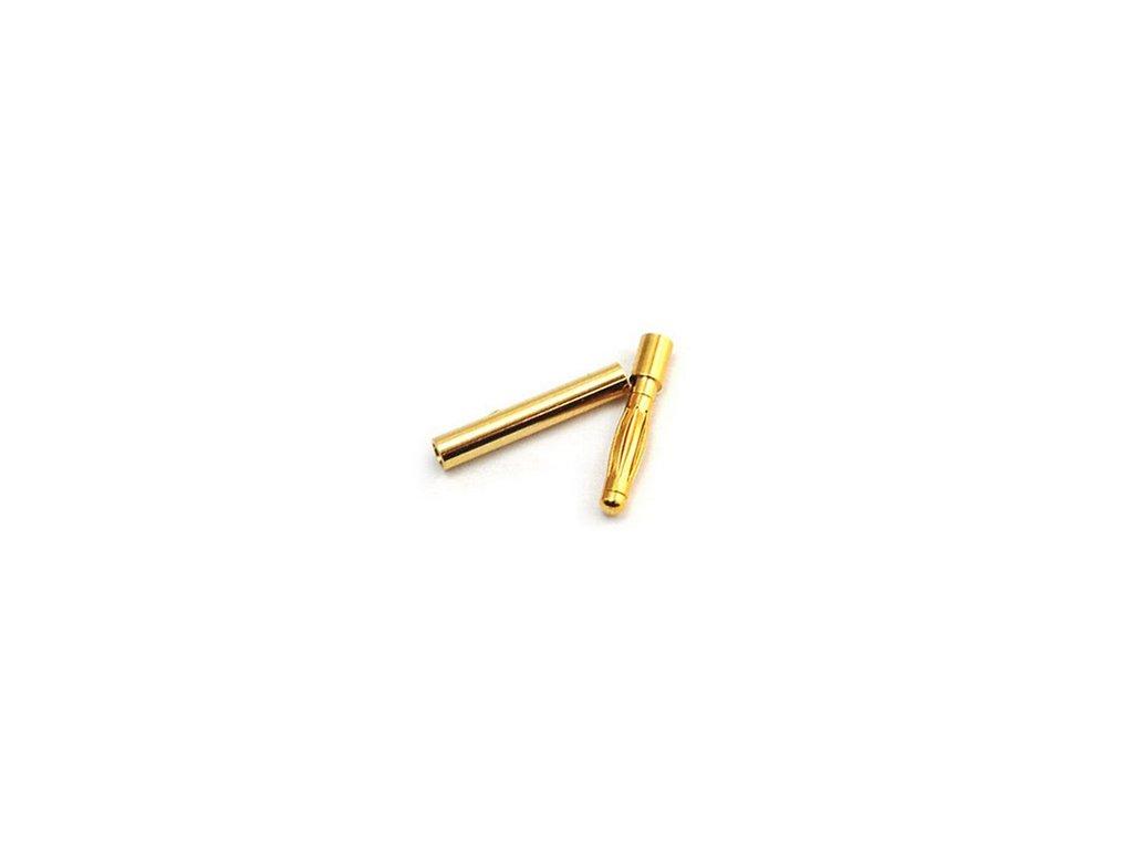 2mm zlatý konektor (pár B)