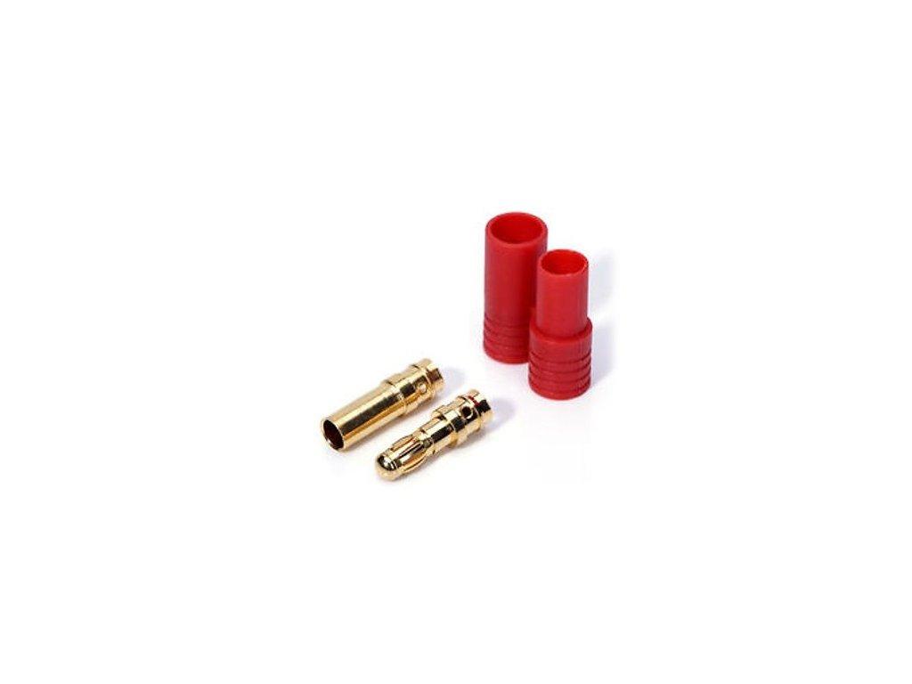 3,5mm zlatý konektor- protektor, jednotlivý