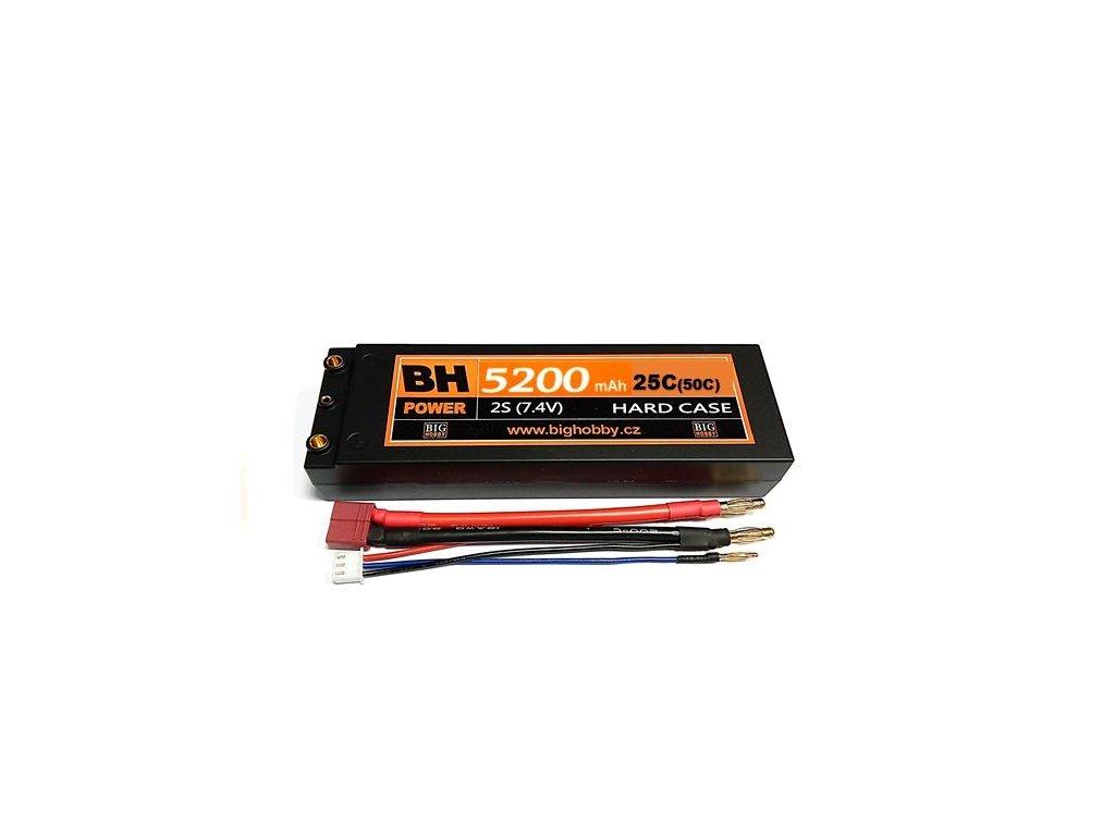 BH Power 5200 mAh 2S 25C (50C) HC (A) - AKCE !