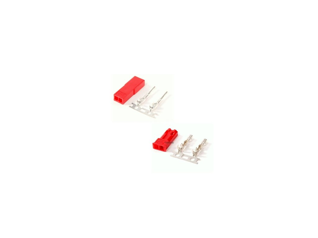 JST 2 pin  mini (BEC) konektor - samec, samice