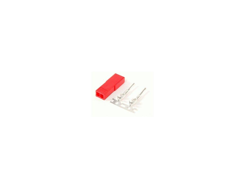 JST 2 pin  mini (BEC) konektor - samice
