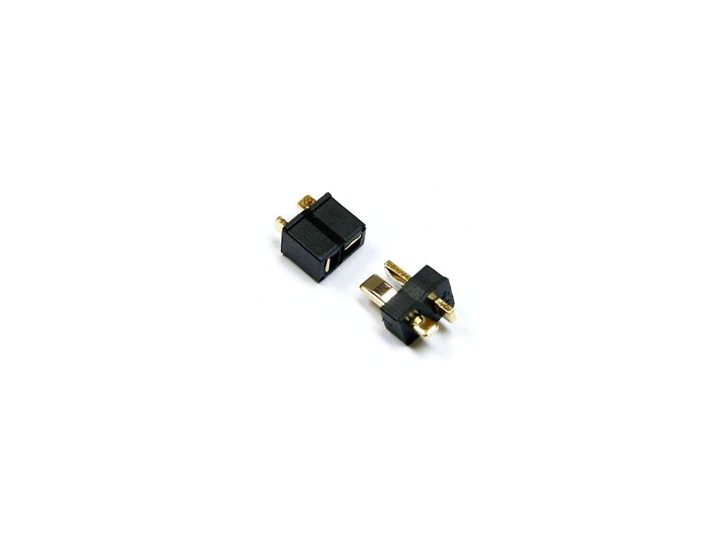 Konektor T - Dean (samec + samice) černý