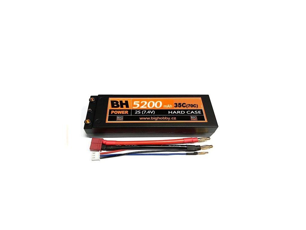 BH Power 5200 mAh 2S 35C (70C) HC (A) - AKCE !