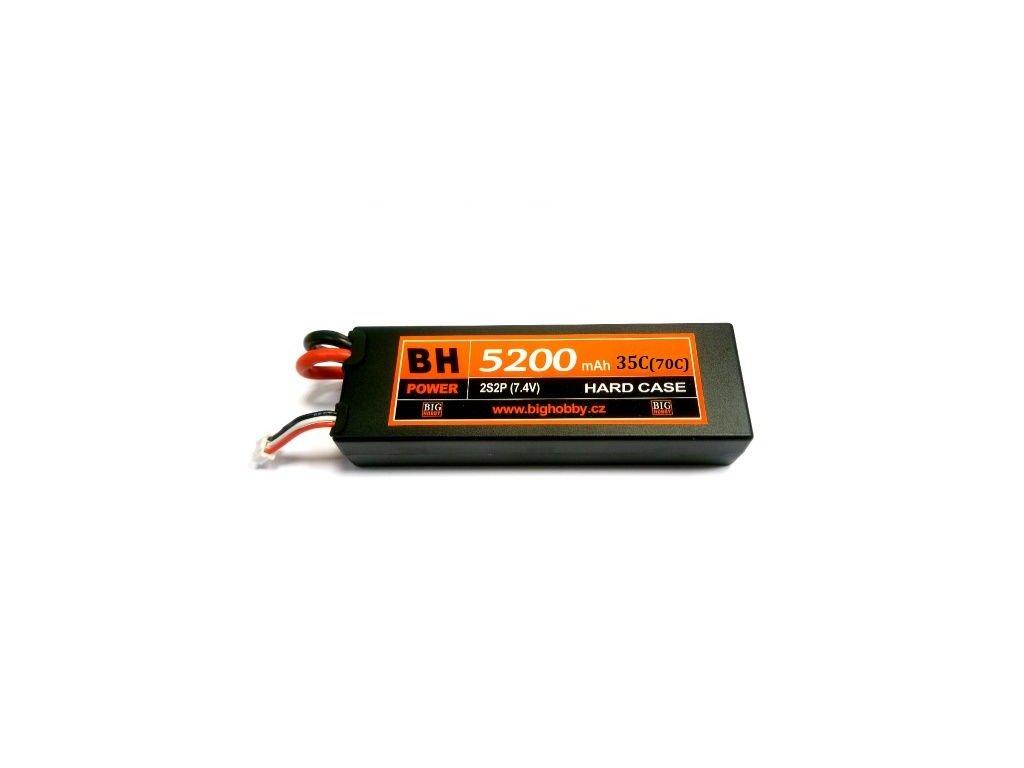 BH Power 5200 mAh 2S 35C (70C) HC (B) - AKCE!