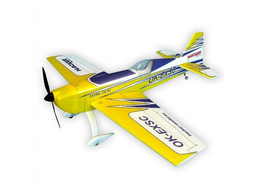 EXTRA 330SC ARF 1000 žlutá