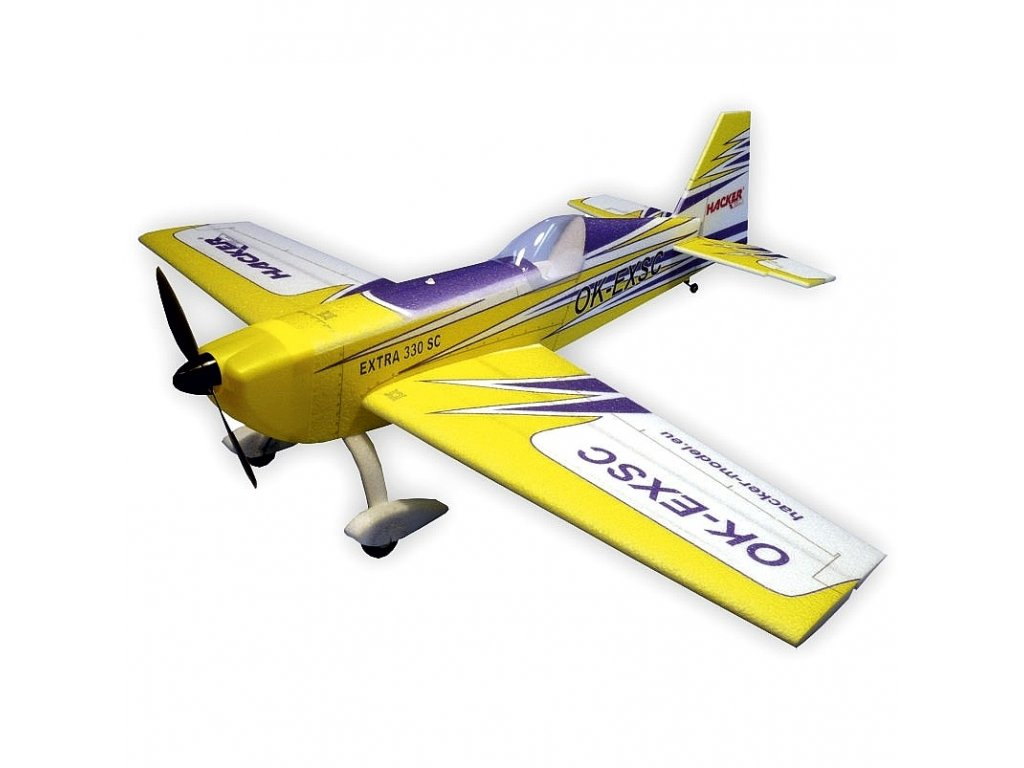 EXTRA 330SC ARF 1200 žlutá