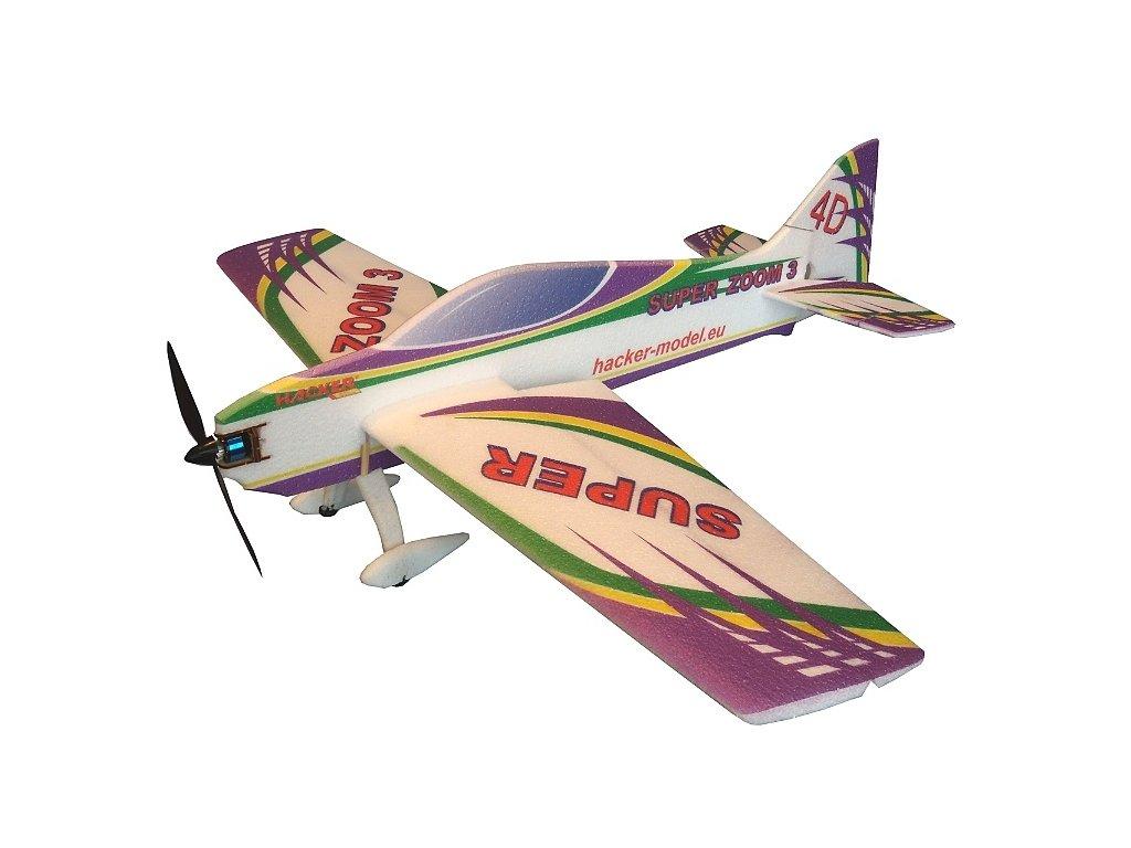 Super Zoom 3 ARF fialový