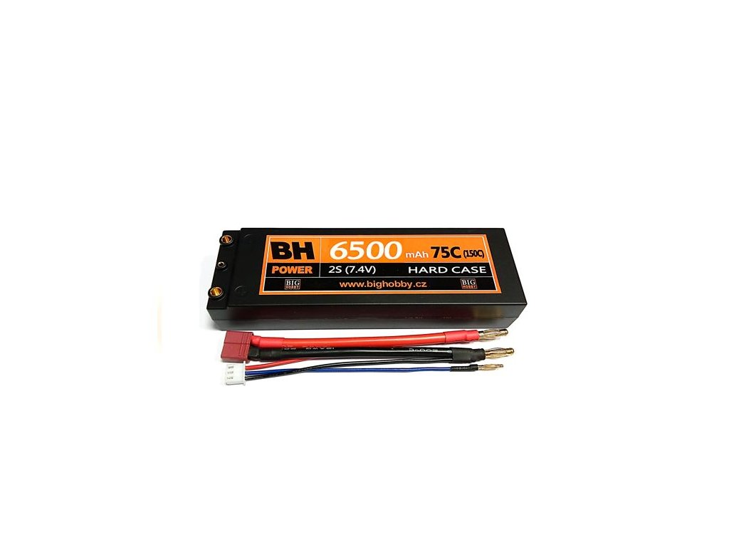 BH Power 6500 mAh 2S 75C (150C) HC (A) - AKCE !