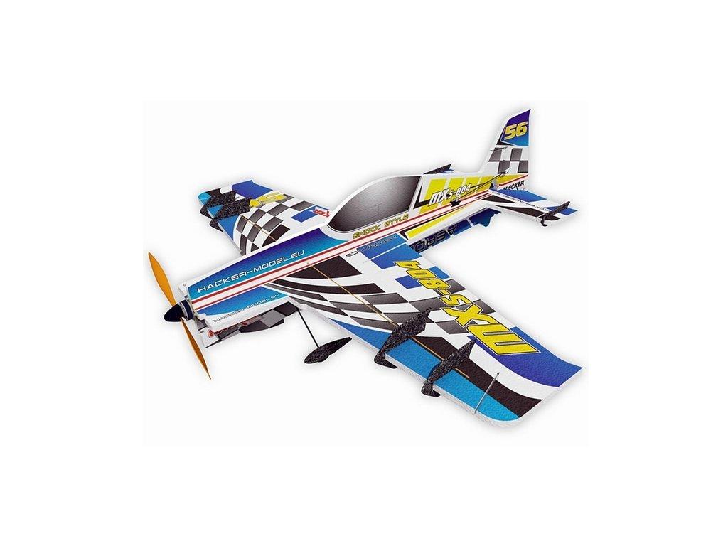 MXS-804 Vector ARF Racing Modrá