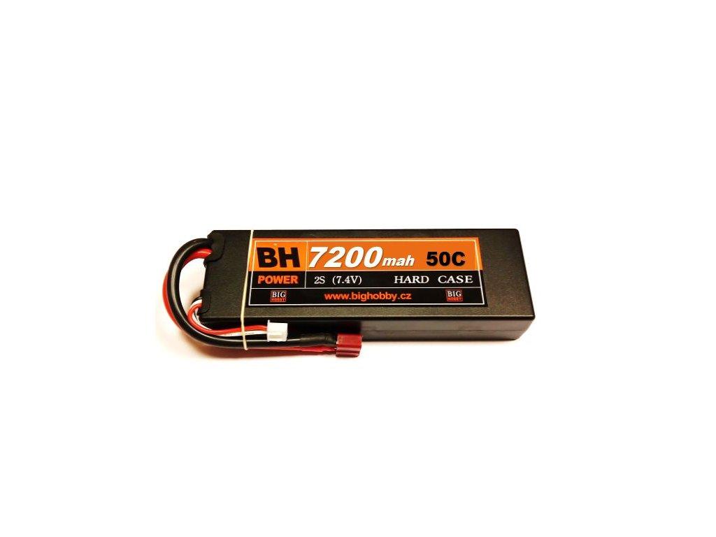 BH Power 7200 mAh 2S 50C (100C) HC (B) - AKCE !