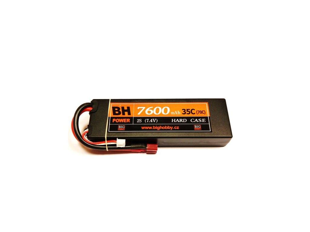 BH Power 7600 mAh 2S 35C (70C) HC (B) - AKCE !