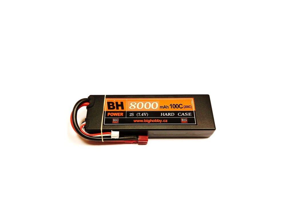 BH Power 8000 mAh 2S 100C (200C) HC (B), 1.7-1.8mΩ