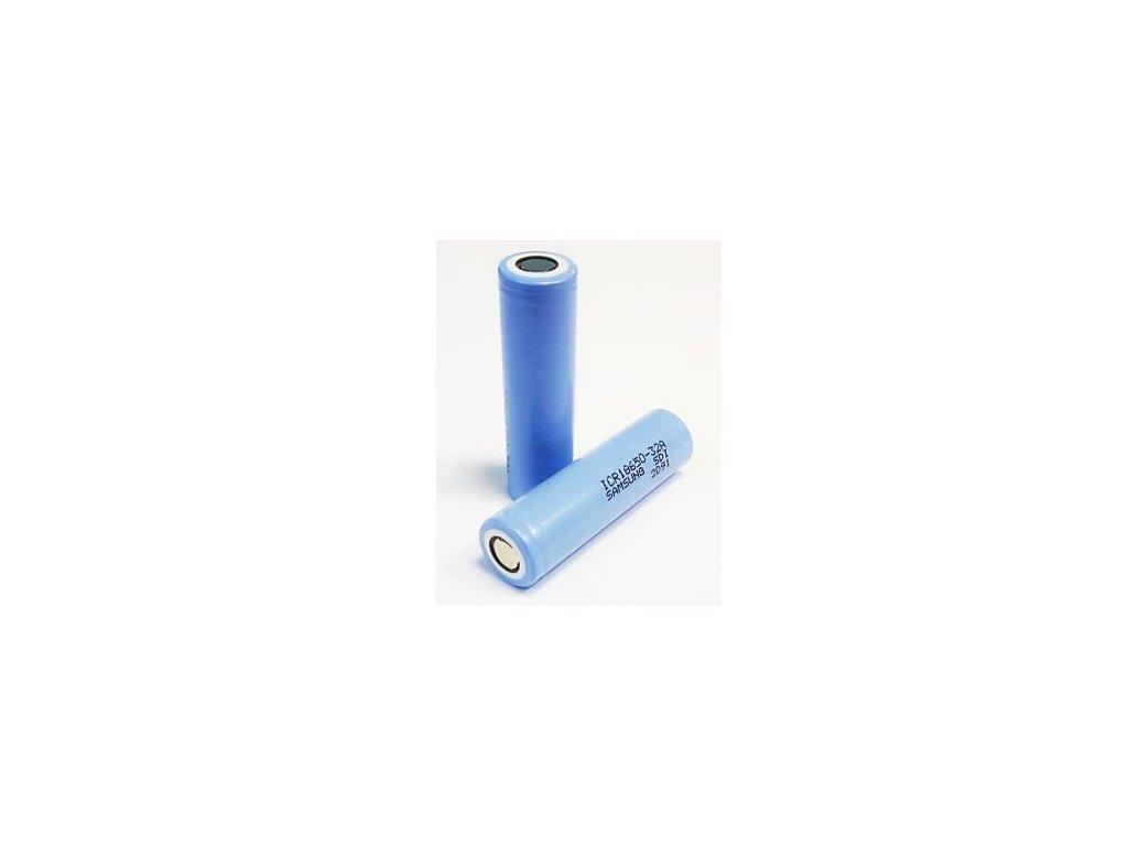 Nabíjecí Li-ion Baterie samsung 18650 3000mAh s PCB ochranou