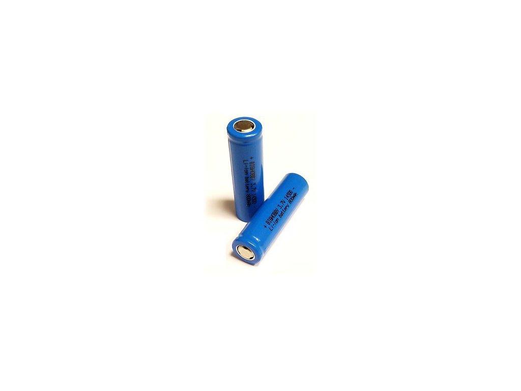 Nabíjecí Li-ion Baterie 14500 800mAh (garance kapacity)