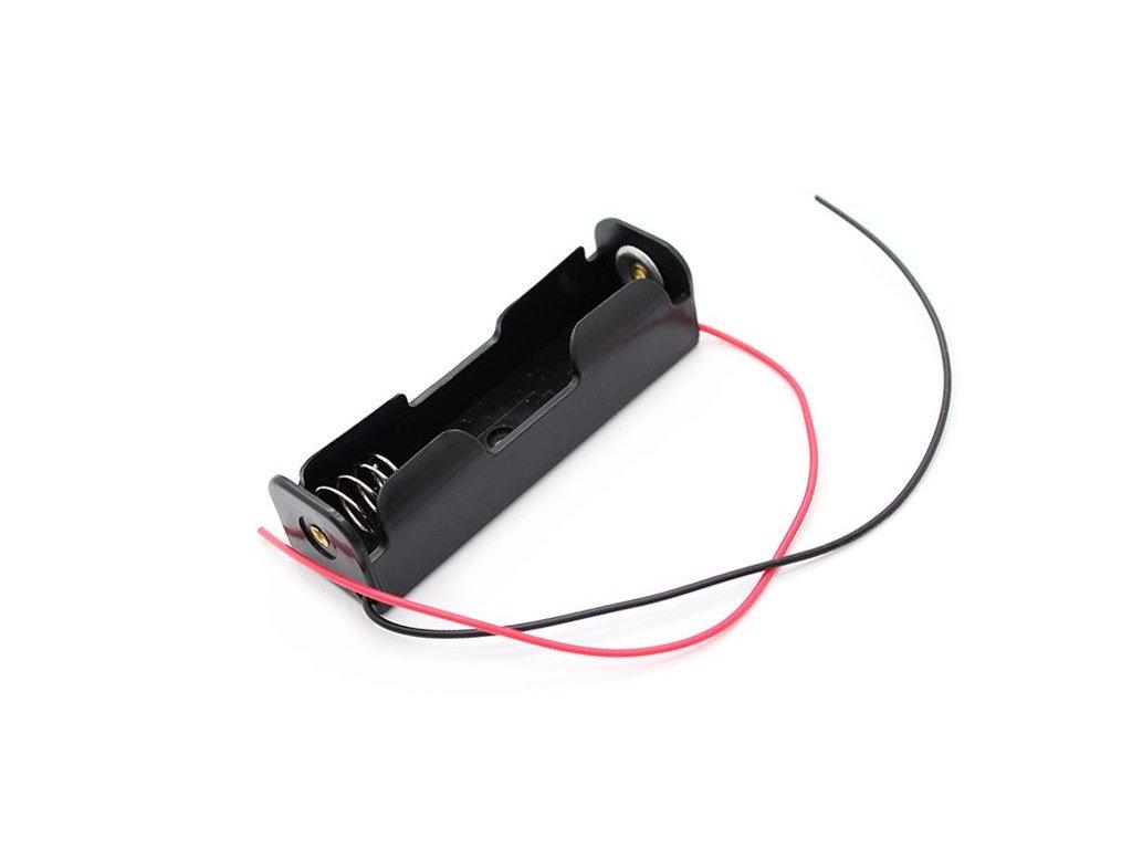 Držák baterie akumulátoru li-ion 1x18650