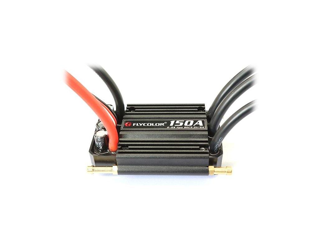 Lodní regulátor Flycolor 150A BEC 5V/5A (s reverzem)