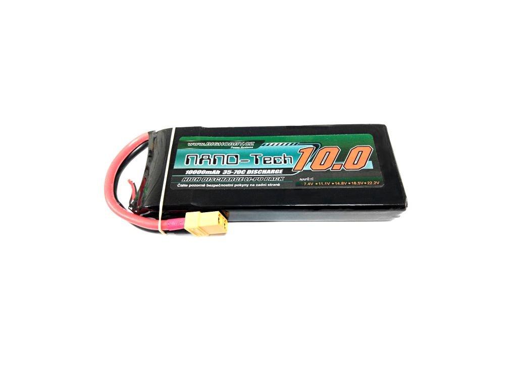 Bighobby- NANO Tech 10000mAh 2S 35C (70C)