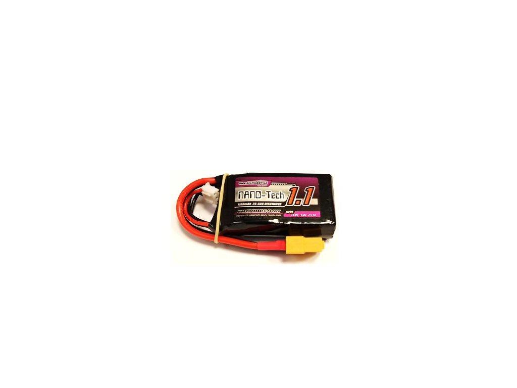 Bighobby - NANO Tech 1100mAh 3S 25C (50C)